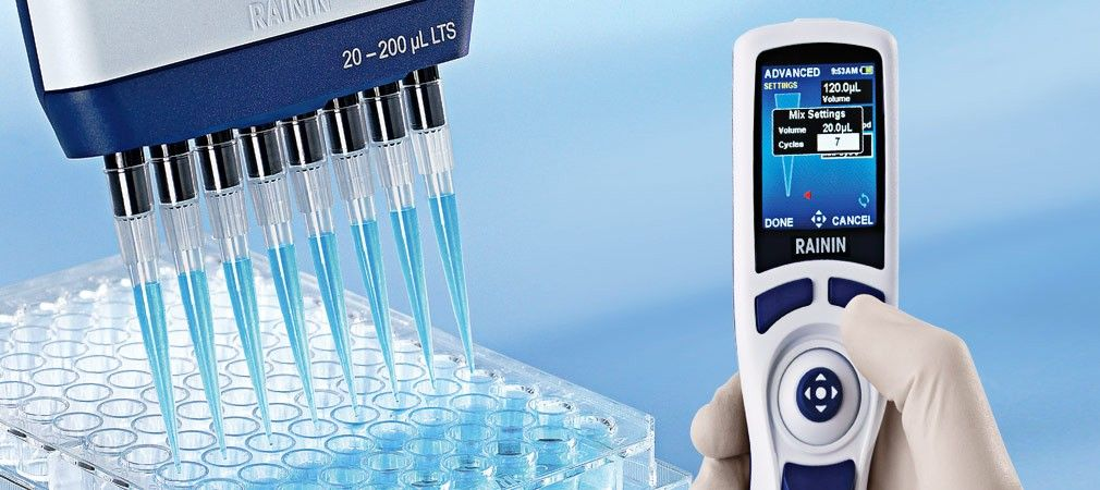 Electronic Multichannel Pipette E4 XLS