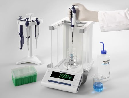 Tests de performances de pipettes