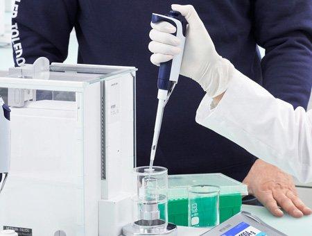 Giấy chứng nhận hiệu chuẩn cho các pipet mới