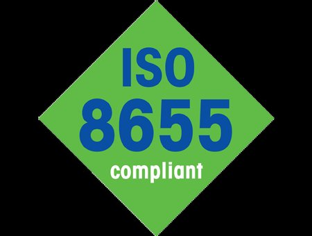 ISO 8655 Compliant