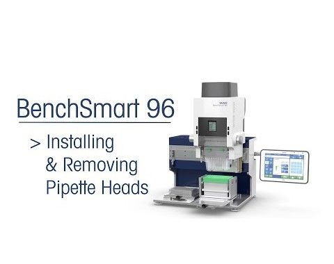 BenchSmart96 instructions pipette heads