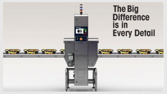The X33 Short Series X-ray Inspection Systems