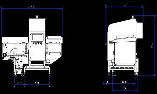 X36 röntgeninspektionssystem för bulkprodukter