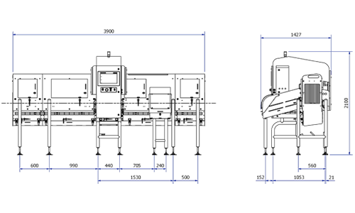 X3710 Food X-ray Inspection System