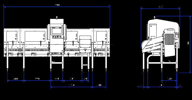 Hệ thống kiểm tra thực phẩm bằng X-quang X3710