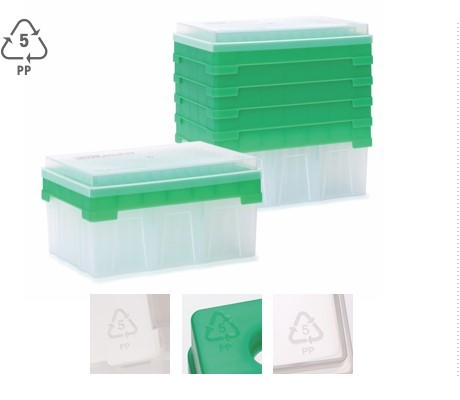 recyclable highthroughput pipette tip packaging