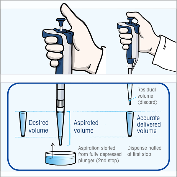 how to reverse pipette