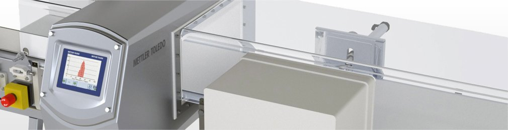Metall Detektor industrielle Metallsuchtechnik oder Metalldetektion
