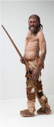 Rekonstruktion von Ötzi. © Südtiroler Archäologiemuseum www.iceman.it