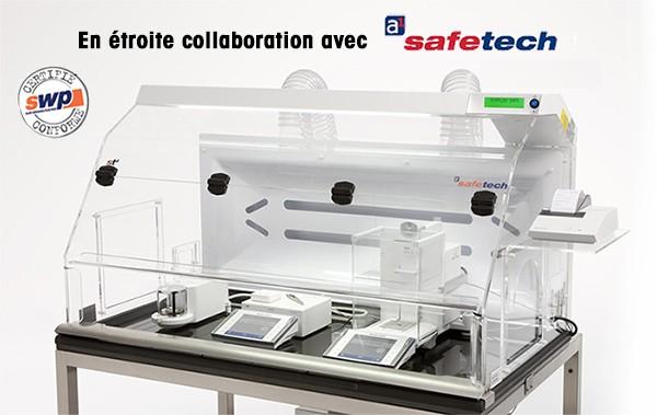 Hottes de laboratoire - Postes de pesée sécurisés - Détails de conception