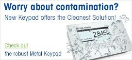 Contamination-free Terminal Keypad