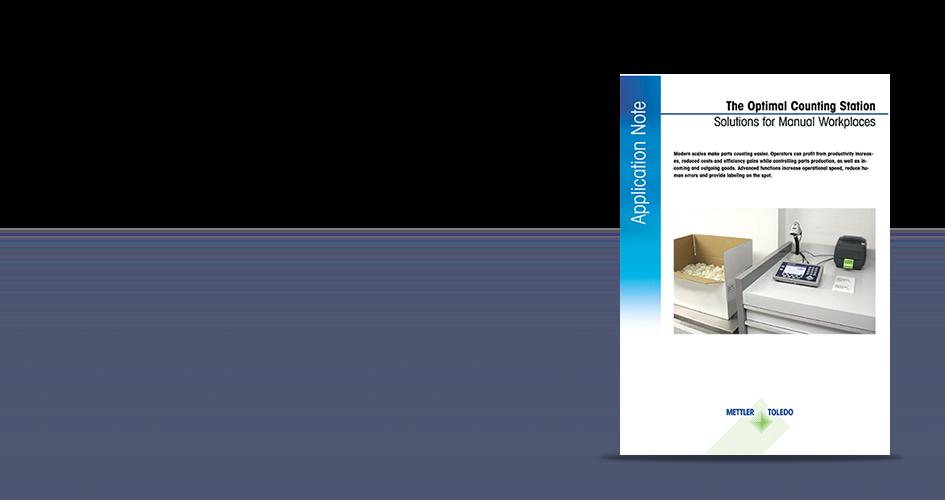 Applikationsbericht : Stückzähllösungen für modernere Prozesse