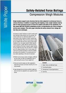 Safety Ratings for Weigh Modules
