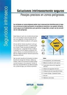 Artículo técnico sobre soluciones de pesaje intrínsecamente seguras