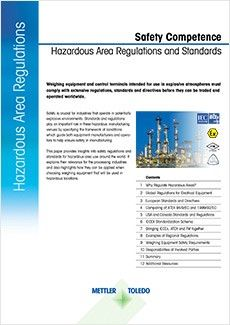 Safety Competence – Hazardous Area Standards and Regulations