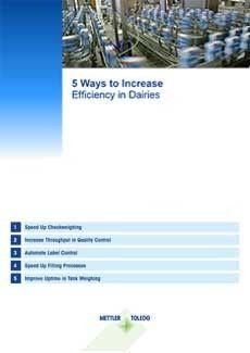 """Snabbguide """"5 sätt till ökad effektivitet inom mejeriproduktion"""""""