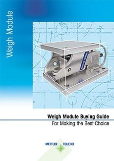 Buying Guide: Weigh Modules and Load Cells