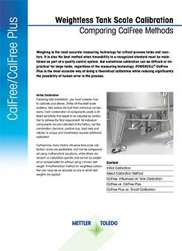 Weightless Tank Scale Calibration White Paper