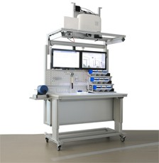 Smart Assembly Workplace with Weigh Modules