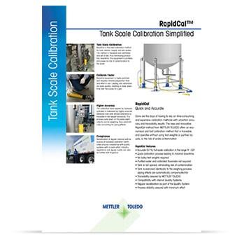 RapidCal™ Tankwaagenkalibrierung