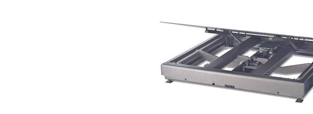 Floor scales for reliable industrial weighing