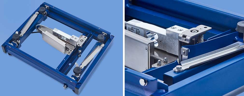 Durable bench scale platform with optimal precision
