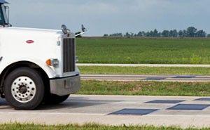 Weigh-in-motion (WIM) truck weighing
