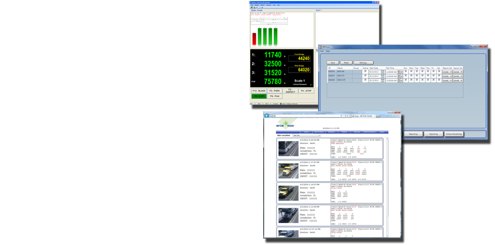 Weigh in Motion Systems Software