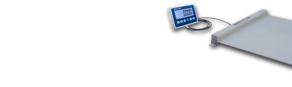 Complete low-profile floor scale package for easy weighing