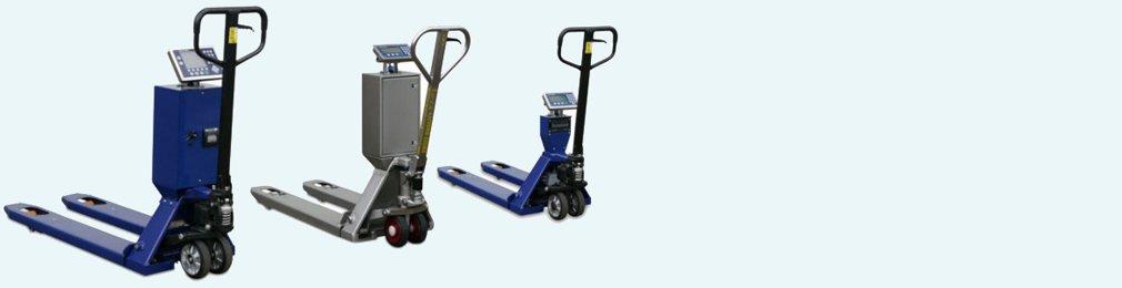 Váhy na paletové vozíky