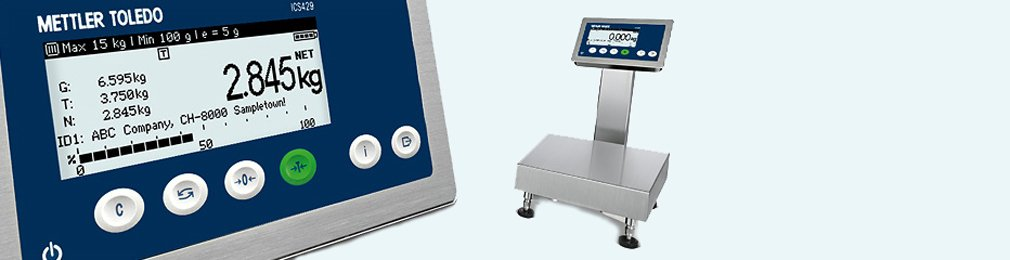 ICS429-ICS439 Basic Weighing Scales