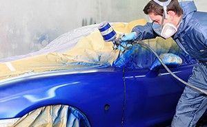 Refinish voor de automotive industrie