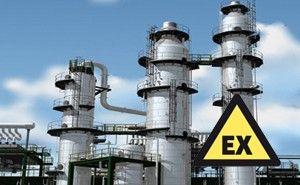 Wegen in explosiegevaarlijke omgevingen