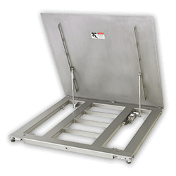 PFA779lift Hinged Plate Floor Scales
