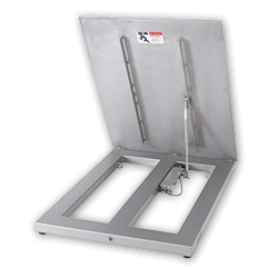 PFA579lift Hinged Plate Floor Scales