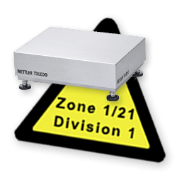 Weighing Platforms and Bench Scales for Hazardous Areas