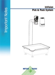 Important Note: InVision Pick & Pack System