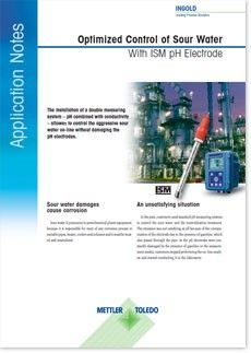 Application Note: Optimized Control of Sour Water in Petrochemical Applications