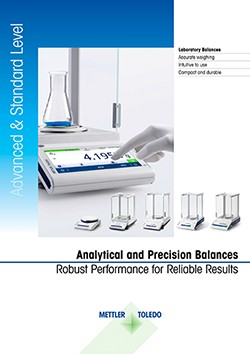 Analytical and Precision Balances Brochure