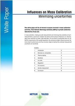 Influences on Mass Calibration - Minimizing Uncertainties