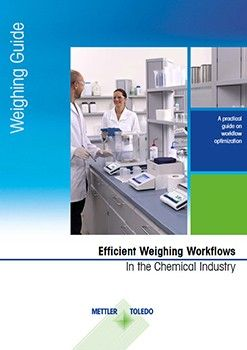 The guide explores six common lab workflows in the chemical industry where weighing plays an integral role: Formulation, moisture analysis (loss on drying/ignition), particle size analysis/distribution, density determination, sample preparation for titration, and preparation of reference substances for HPLC or GC.