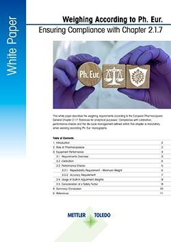 Libro bianco sull'edizione 10.6 della Farmacopea europea (Ph. Eur.)