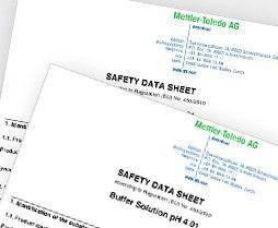 Biztonsági adatlapok (SDS)