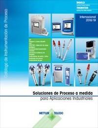 Catálogo de productos de instrumentación analítica en proceso