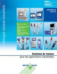 Catalogue Produits Analyse Industrielle