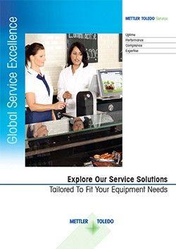 Brochure compétences Service pour le commerce alimentaire