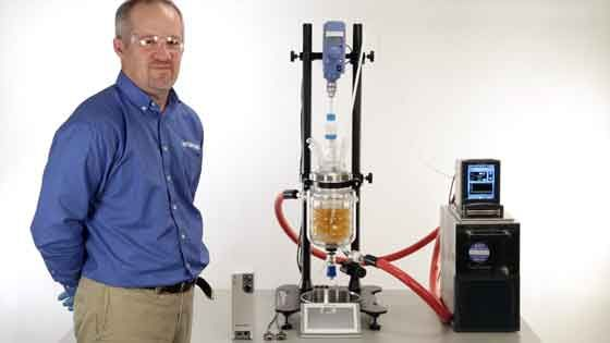 See how the RX-10 Automates Jacketed Lab Reactors