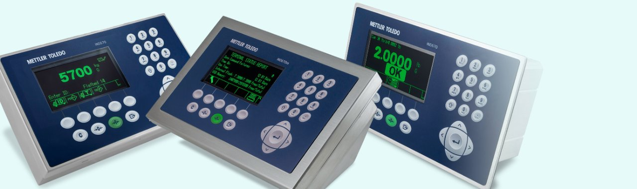 IND570 and IND570xx Weighing Terminals - Overview - METTLER