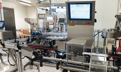 ACE Solutions Relies on the C35 AdvancedLine Checkweigher