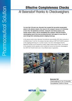 Effektiv fuldstændighedskontrol hos Beiersdorf
